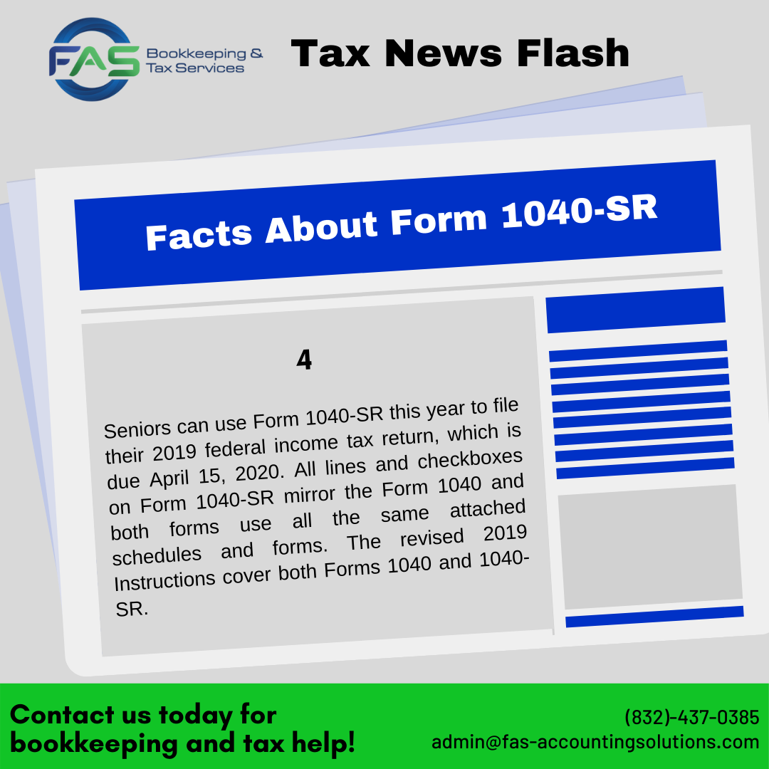 Facts About Form1040SR