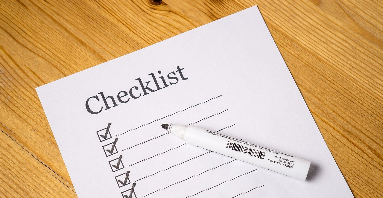 Checklist Before Staring Your Taxes