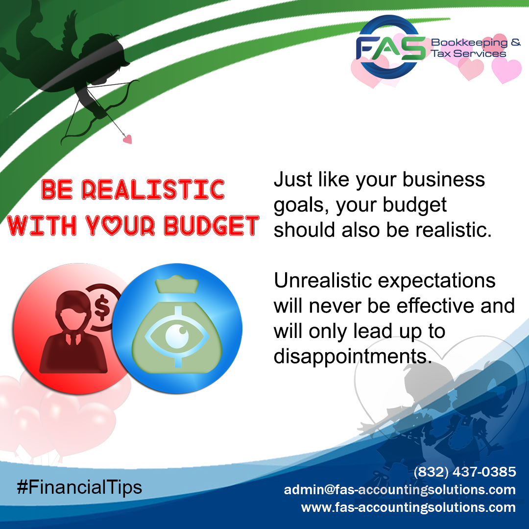 Be Realistic with Your Budget