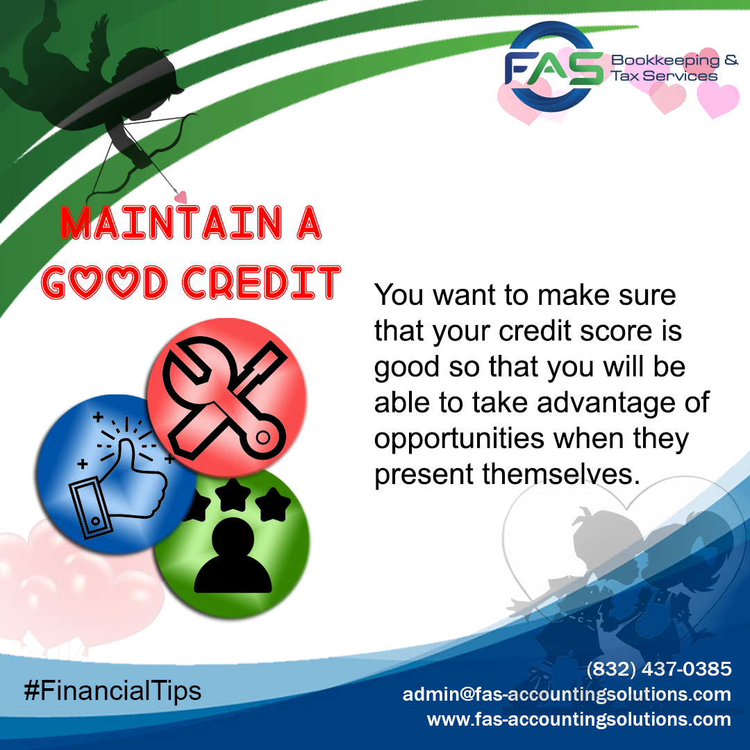 Maintain a Good Credit