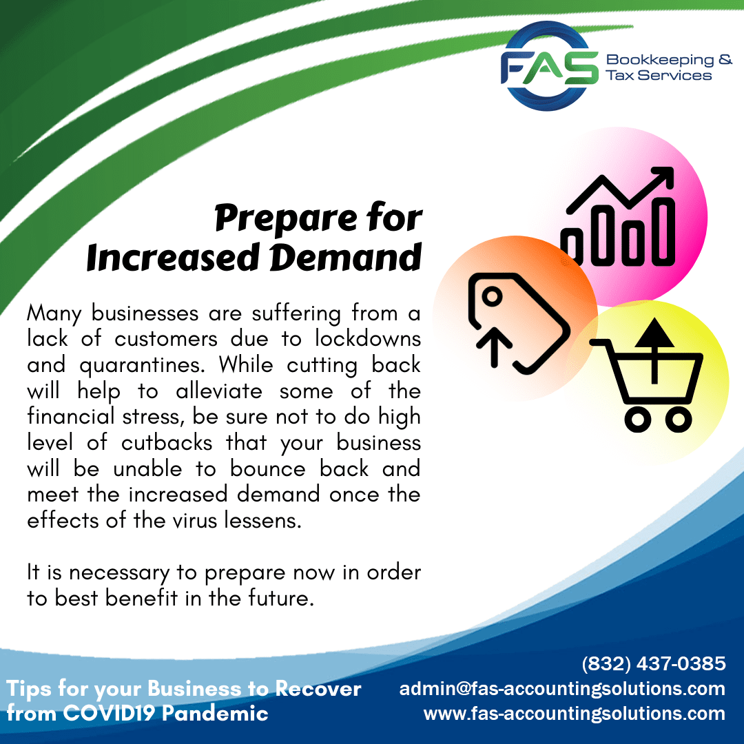Prepare for Increased Demand - Business Recovery Tips