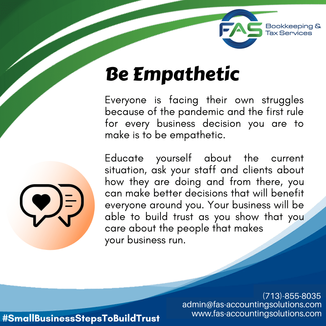 Be Empathetic - #WaysToBuildCustomerTrust