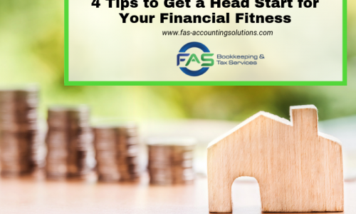 4 Tips to Get a Head Start for Your Financial Fitness