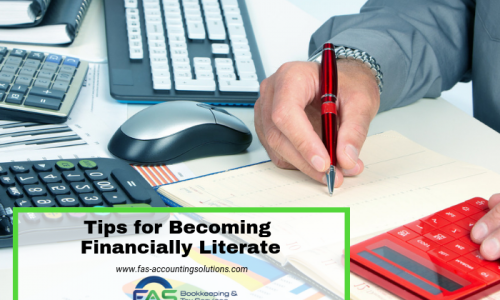 Tips for Becoming Financially Literate